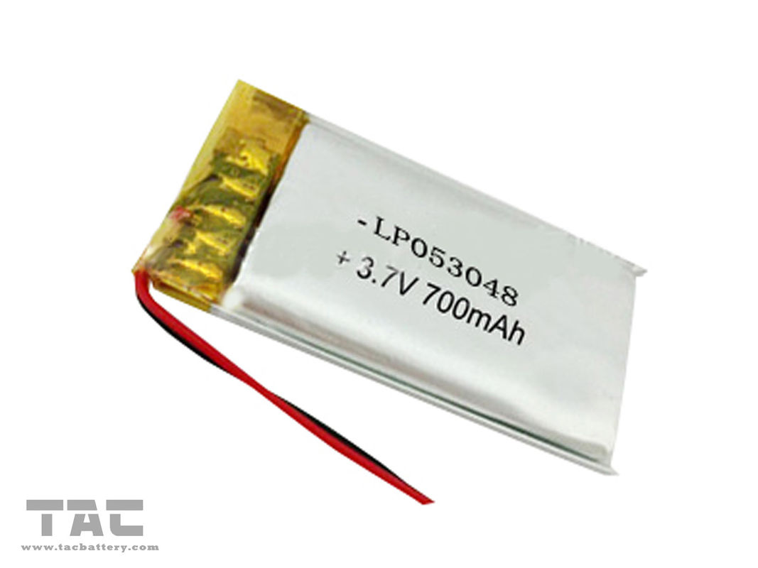 Rechargeable Lithium Ion Battery 3.7 V 700 mAh for Cyber Physical System GSP503048