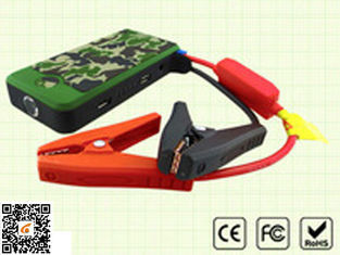 Multi Function Power Bank And Portable Car Jump Starter In Army Green