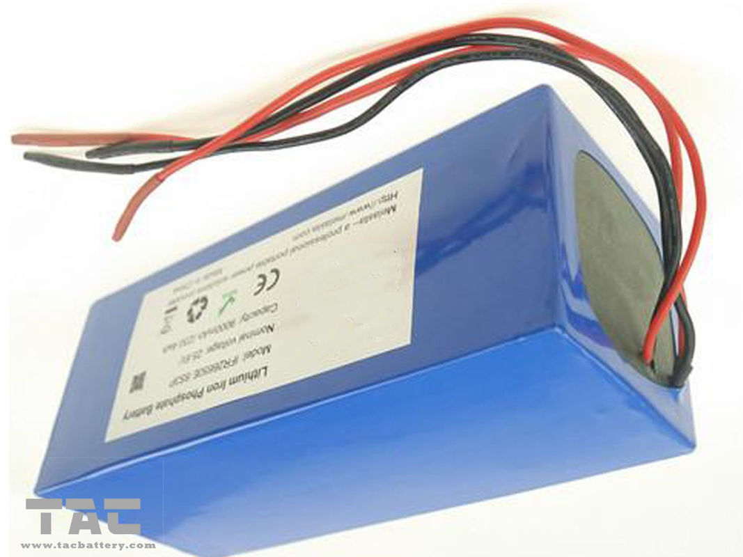 Electric Scooter LiFePO4 Battery Pack  51.2V 12AH 26650 16S4P For Golfcart