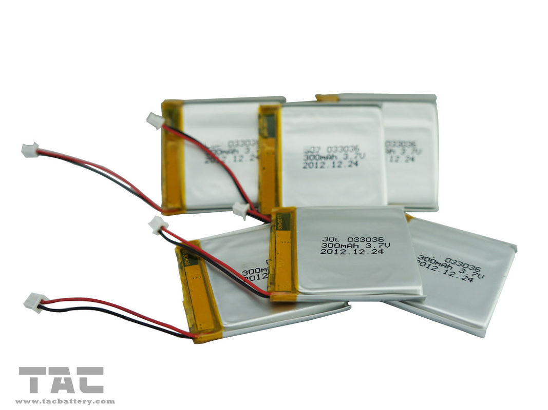 Polymer Lithium Ion Battery Cell with PCB For HEV  GSP351624 3.7V 100mAh