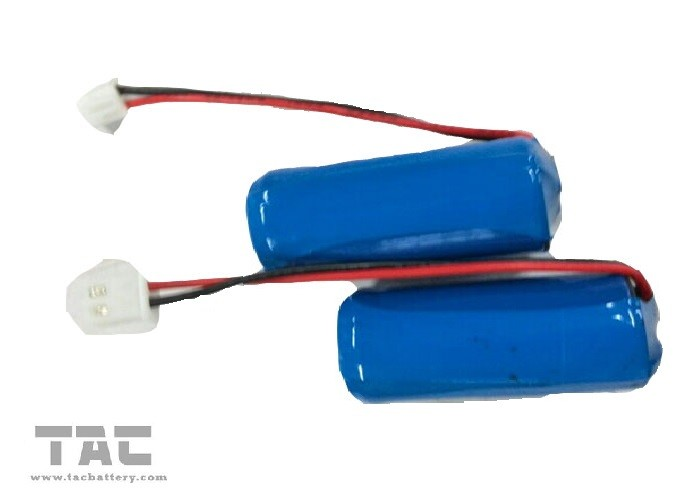 INR 18650 2900mah Lithium Ion Cylindrical Battery for Head Light
