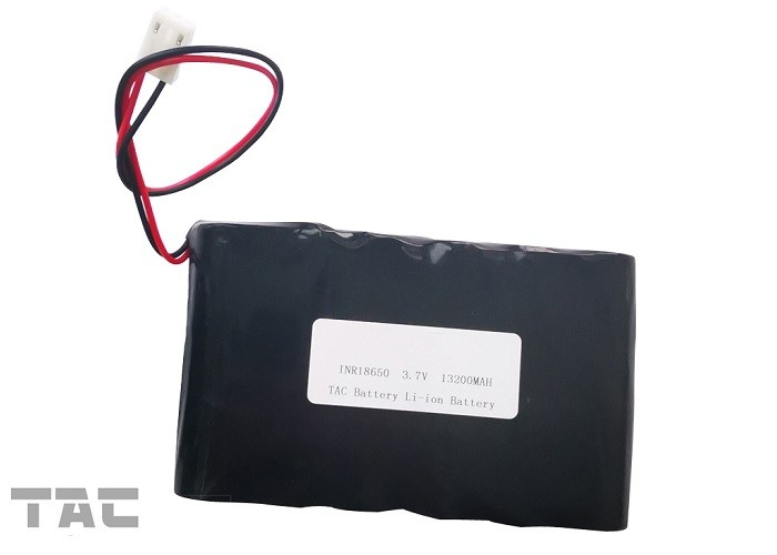 Outdoor Solar Lithium  Ion Battery Pack 3.7V ICR18650 UL1642  500 Times Circle Life